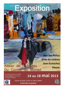 Expo peintures mai 2013 affiche