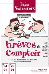 Théâtre 'Les brèves de comptoir' @ Espace G Brassens | Léognan | Aquitaine | France