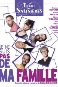 Théâtre 'je ne suis pas de ma famille' @ Espace G Brassens | Léognan | Aquitaine | France