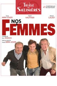 Théâtre 'Nos femmes' @ Espace G Brassens | Léognan | Aquitaine | France