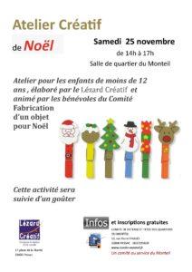 Atelier de Noël @ Salle du Monteil | Pessac | Aquitaine | France
