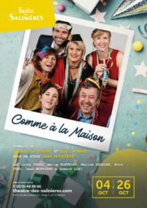 Théâtre 'comme à la maison' @ Espace G Brassens | Léognan | Aquitaine | France